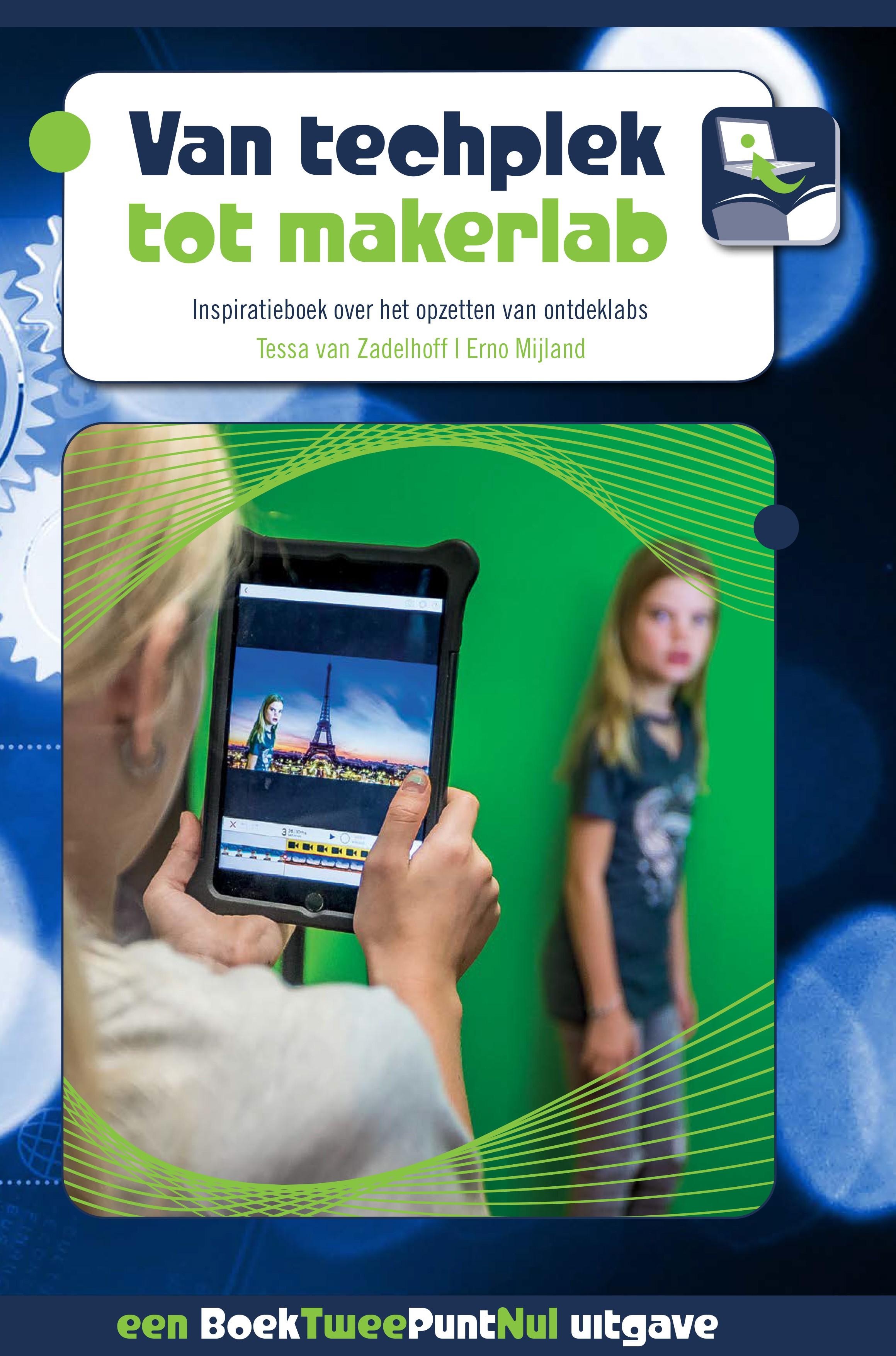 Van Techplek tot Makerlab omslag